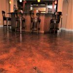 stained concrete floor in st louis