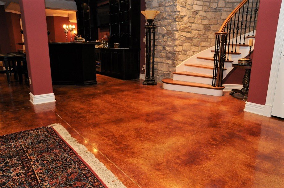 Stained Concrete St Louis Mo Leading Flooring Contractor